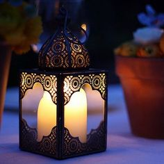 Morroccan lantern, Not on the Highstreet, £23 - for my patio