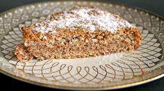 Wunderbar einfacher Low Carb Mandelkuchen. Nur 3 Zutaten und ein wenig Zeit und schon kann man genießen. Dazu passen Beeren und Schlagsahne perfekt ...