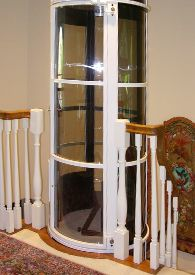small home elevator for cheap price easy installtaion 11200 vision 450 residential elevators are some of the pneumatic lift home elevators we carry and these require less installation than others types