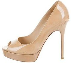 Jimmy Choo Peep-Toe Platform Pumps