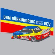 1977 German Racing Poster Art