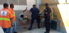 Guardas civis são flagrados em vídeo agredindo morador de rua em SP