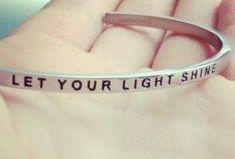 Let Your Light Shine, Let It Be, Bracelets, Silver, Jewelry, Jewlery, Jewerly, Schmuck, Jewels