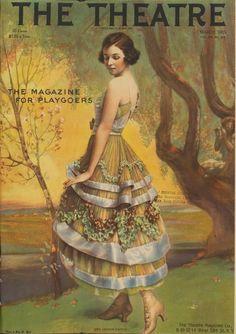 New York digital library.  Irene Castle 1915