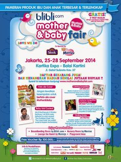 THE DYTAPUTRI: Mother and Baby Fair 2014