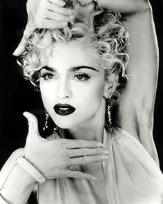 Madonna in the 90s (here performing Vogue)