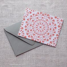 delightful doily cards!