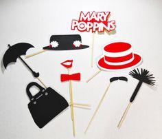 Mary poppins fiesta temática apoyos 9pc