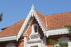 Arcachon, villa San Antonio, avec ses bois découpés le long du toit