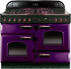 Talk about Pantone Color of Year I think this could be stunning if done right in a kitchen Purple Furniture, Purple Home, All Things Purple, Purple Stuff, Gothic House, Purple Reign, Pantone Color, Shades Of Purple, My Dream Home