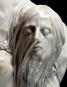 Cristo Velato (Veiled Christ) by Giuseppe Sanmartino Giuseppe Sanmartino, Sculpture Romaine, Art Ancien, Art Sculpture, Bernini Sculpture, Cemetery Art, Magazine Art, Art Plastique, Ancient Art