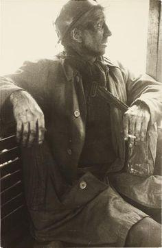 Robert Frank, Ben James, Welsh Miner, 1953