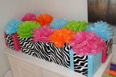 party favors wrapping...so guests can unwrap something too