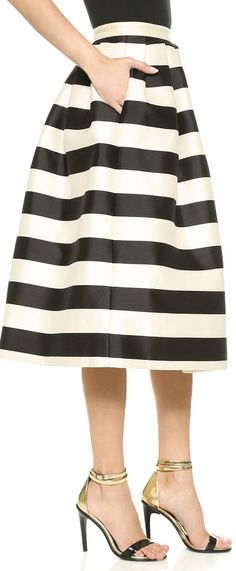 Striped skirt http://rstyle.me/n/s8zpdn2bn