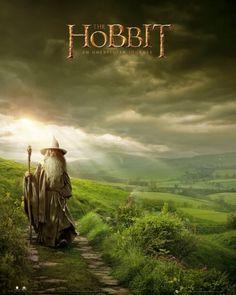 The Hobbit Gandalf - plakat - 40x50 cm  Gdzie kupić? www.eplakaty.pl