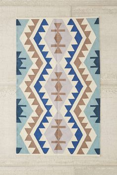Could make a Kilim bench DIY! - Plum & Bow Samarkand Kilim Woven Rug