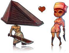 Pyramid and Nursie by SoyUnGnomo on DeviantArt