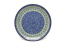 Polish Pottery Plate  Dinner 10 12  Tranquility * Detailed information can be found by clicking on the VISIT button