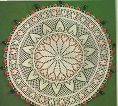 Bead Crochet Heart Mat from the August 1988 issue of Magic Crochet magazine Crochet Mat, Crochet Home, Thread Crochet, Filet Crochet, Irish Crochet, Crochet Crafts, Beaded Crochet, Crochet Symbols, Crochet Doily Patterns