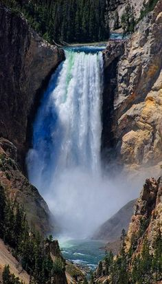 Lower Falls ~ Yellowstone National Park, Wyoming, USA