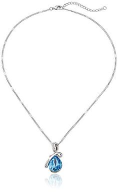 Hot Women Silver Plated Crystal Drop Pendant Necklace Fashion Jewelry buytra http://www.amazon.com/dp/B00JN08DO8/ref=cm_sw_r_pi_dp_YKqJvb17T5VEH