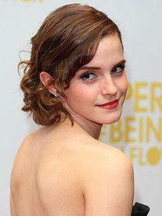 Emma Watson - gorgeous curls :)