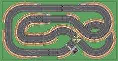 New Digital Track Designs - Tracks & Scenery - SlotForum Slot Car Race Track, Ho Slot Cars, Slot Car Racing, Slot Car Tracks, Race Tracks, Scalextric Digital, Scalextric Track, Carrera Slot Cars, Thing 1
