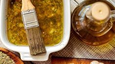 One of the best ways to cook beautiful chicken and turkey is to use a good marinade that gets right under the skin of your poultry. Here are 5 of the best turkey and chicken injection recipes for you to take your meat prep to the next level. Best Turkey Injection Recipe, Turkey Injector Recipe, Chicken Injection Recipes, Injection Marinade Recipe, Turkey Marinade, Pork Marinade, Smoked Turkey Rub, Herbs For Chickens, Injecting Turkey Recipes