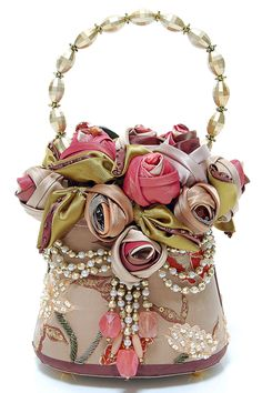 MARY FRANCES Glamour Girl Antique Style Purse - Yes, I have this wonderful piece.