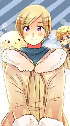 Day 18-Character I'd want as my parent: Finland. He'd be a cool dad. (Also Sweden.)