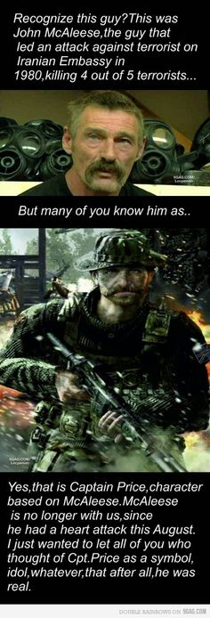 Just the real Captain Price.