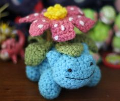 This was a commission, but I have more Pokemon amigurumi available in my shop here.