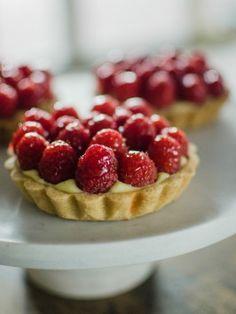 Mini Raspberry Tarts http://www.cookingchanneltv.com/recipes/julia-baker/mini-raspberry-tarts.html