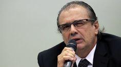 Ex-gerente da Petrobras Pedro Barusco na CPI em Brasília