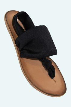 Beka Sandal in Black.