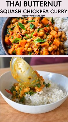 Vegan Chickpea Curry, Vegetarian Curry, Vegetarian Recipes Dinner, Vegan Potato Curry, Vegan Chickpea Recipes, Indian Food Recipes, Asian Recipes, Healthy Recipes, Curry Dishes