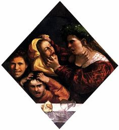 Anger or the Tussle - Dosso Dossi