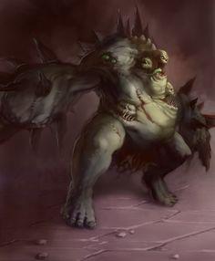 Shadow Warrior, Fantasy Characters, Fictional Characters, Lion Sculpture, Princess Zelda, Fan Art, Statue, Spawn, Fantasy Artwork