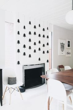 Via 45 Walldesign | Nordic Christmas | Eames