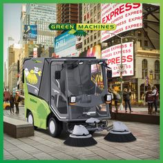 Energy saving green machines City Clean, Eco City, Safe Storage, Neat And Tidy, Go Green, Worlds Of Fun, Save Energy, All Over The World, Cities