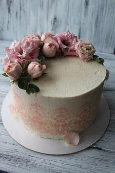 МОИ торты Shabby Chic Cakes, Sweet Cakes, Wedding Cakes, Wedding Ideas, Baking, Desserts, Beautiful, Food, Decorating Cakes
