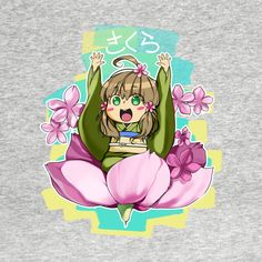 Awesome Sakura time! design on TeePublic!