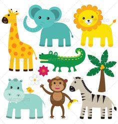 Vector Animals Set - Animals Characters