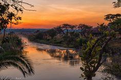 Sunrise over Rio Cuebe Tanzania, Kenya, Safari Holidays, Travel Expert, Best Sunset, Places To See, Caribbean, Rio, Exotic