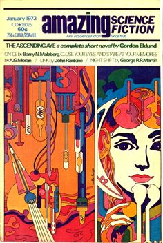 psychedelicway: Amazing Science Fiction - January 1973 Looks sort of like Mike Hinge was the artist. Can't confirm.