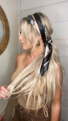 Easy Hairstyles For Long Hair, Headband Hairstyles, Summer Hairstyles, Pretty Hairstyles, Formal Hairstyles, Bride Hairstyles, Braids Long Hair, Long Blonde Hairstyles, Summer Hairdos