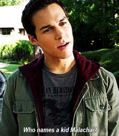 Chris Wood as Kai Parker - The Vampire Diaries <3