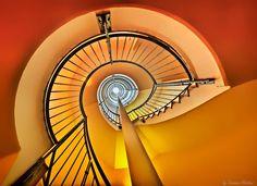 Vienna Staircase by Susanna Hibiskus on 500px