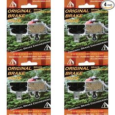 4 Pairs 70mm Shoes Shimano Avid Tektro Black V Brake Pads for SRAM 8 Pads