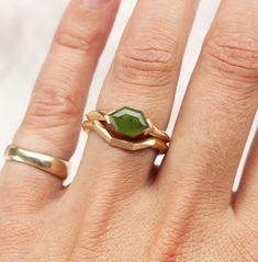Bespoke Pounamu New Zealand Greenstone Ring by Courtney Marama Jewellery New Zealand Jewellery, Precious Metals, Handcrafted Jewelry, Solid Gold, Bespoke, Custom Design, Jewelry Making, Things To Come, Pendants